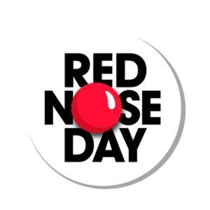 logotipo do dia do nariz vermelho
