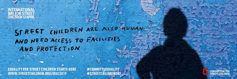 Journée internationale des enfants des rues 2019 - Twitter banner 2