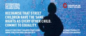 Journée internationale des enfants des rues 2019 - bannière