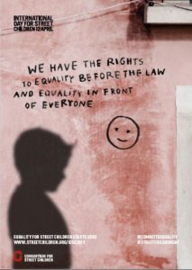 Journée internationale des enfants des rues 2019 - affiche 6