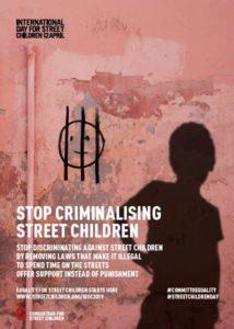 स्ट्रीट चिल्ड्रन 2019 के लिए अंतर्राष्ट्रीय दिवस - पोस्टर 8