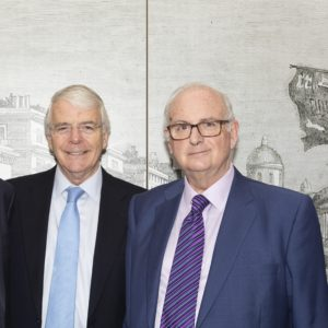 Sir John Major, Dr Roger Hayes
